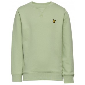 Lyle and Scott seafoam sweater trui in de kleur licht groen