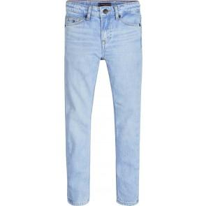 Tommy Hilfiger kids boys jeans broek simon skinny in de kleur jeansblauw