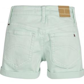 Tommy Hilfiger kids girls korte broek Nora short in de kleur mintgroen