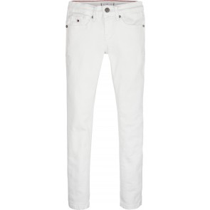 Tommy Hilfiger kids girls broek Nora skinny in de kleur wit