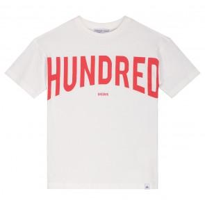 Nik en Nik boys hundred t-shirt in de kleur off white