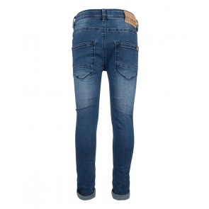 Indian blue jeans broek blue brad super skinny fit in de kleur jeansblauw