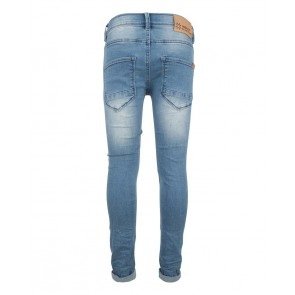 Indian blue jeans broek blue brad super skinny fit in lichte wassing