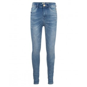 Indian blue jeans girls high waist skinny broek blue Lois in de kleur jeansblauw