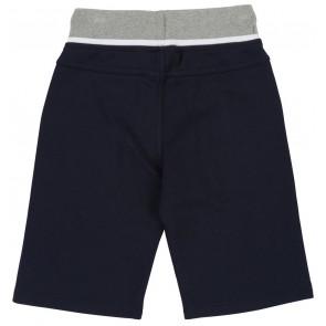Hugo Boss kids sweatshort korte broek met logo in de kleur zwart