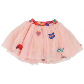 Billieblush tule rok met pailletten en glitters in de kleur lichtroze