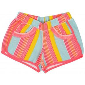 Billieblush gestreepte korte broek van badstof in de kleur multicolor