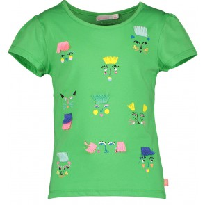 Billieblush t-shirt met all over print in de kleur groen