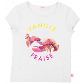 Billieblush t-shirt Vannile Fraise met print in de kleur wit