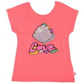 Billieblush t-shirt met print in de kleur roze