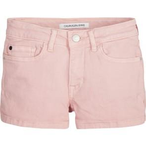 Calvin Klein Jeans korte broek in de kleur lichtroze