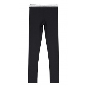 NIK en NIK legging met glitterbies in de kleur zwart