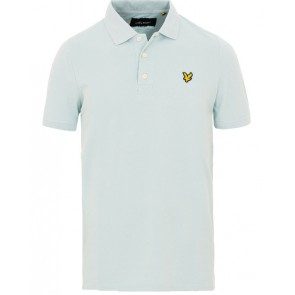 Lyle and Scott polo shirt in de kleur blue shore lichtblauw