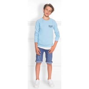 NIK en NIK Ferdinand short denim korte broek in de kleur jeansblauw