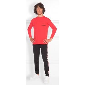 NIK en NIK Jace t-shirt longsleeve in de kleur rood