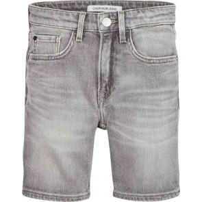 Calvin Klein Jeans korte tapered broek in de kleur grijs