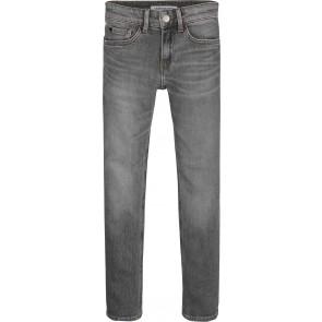 Calvin Klein Jeans denim slim fit broek in de kleur grijs