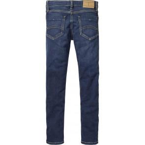 Tommy Hilfiger kids boys scanton slim jeans broek in de kleur jeansblauw