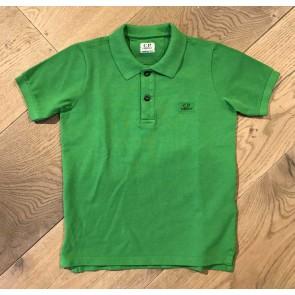 CP Company undersixteen polo shirt met klein logo in de kleur groen