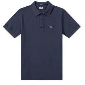 CP Company undersixteen polo shirt met klein logo in de kleur donkerblauw