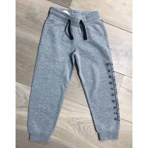 Napapijri sweat pants broek met logo print op de pijp in de kleur grijs