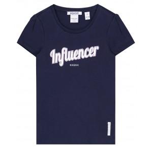 NIK en NIK Influencer t-shirt in de kleur donkerblauw