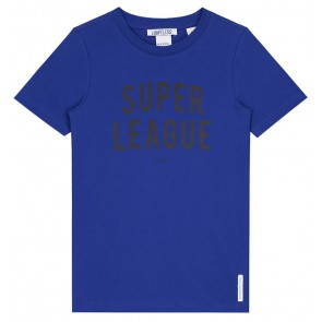 NIK en NIK Super league t-shirt in de kleur kobalt blauw