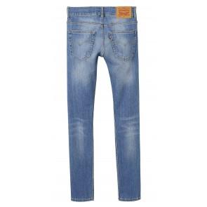 Levi's kids boys jeans broek 519 extreme skinny in de kleur jeansblauw