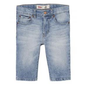 Levi's kids boys korte jeans broek bermuda in de kleur jeansblauw