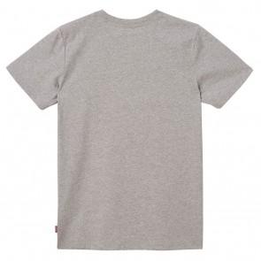Levi's kids t-shirt met logo print in de kleur lichtgrijs