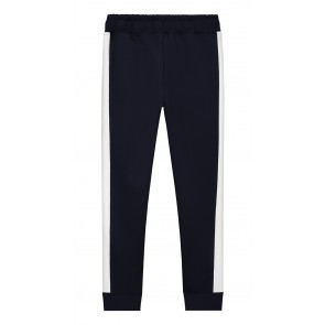Nik en Nik Flo track pants sweat broek met bies in de kleur donkerblauw