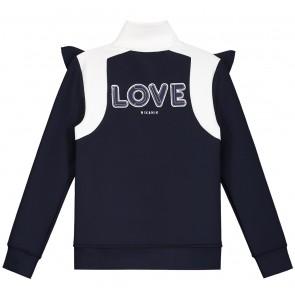 Nik en Nik love track jacket in de kleur dark blue donkerblauw