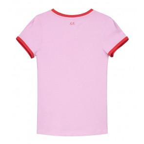 Nik en Nik ready t-shirt in de kleur lavender roze