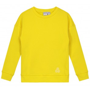 Nik en Nik sweater trui Max in de kleur bright yellow geel