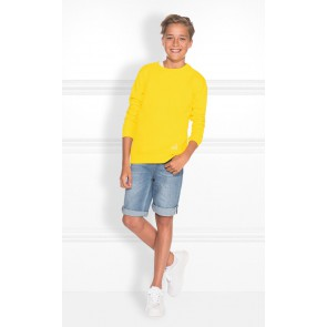 Nik en Nik sweater trui Max in de kleur bright yellow geel