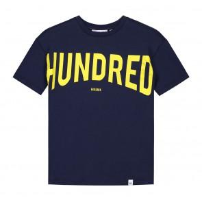 Nik en Nik hundred t-shirt in de kleur dark blue donkerblauw
