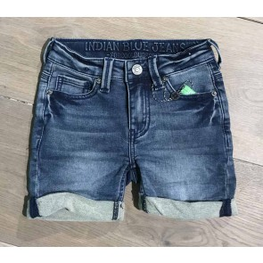 Indian blue jeans korte broek blue dann jog short in de kleur jeansblauw