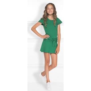 NIK en NIK Fala jumpsuit met strik in de kleur groen