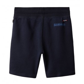 Napapijri kids short sweat broek Noyie in de kleur dark blue donkerblauw