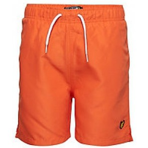 Lyle & Scott zwembroek in de kleur oranje