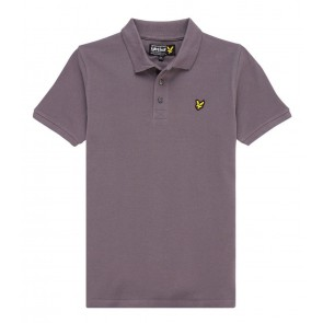 Lyle and Scott polo shirt in de kleur Pelican grey grijs