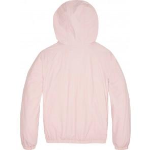 Calvin Klein girls anorak zomerjas met heuptasje in de kleur zachtroze