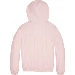 Calvin klein kids girls anorak zomerjas met heuptasje in de kleur lichtroze
