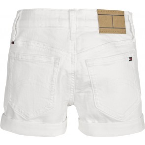 Tommy Hilfiger kids girls korte short broek Nora skinny in de kleur wit