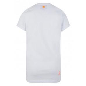 Retour denim jeans shirt Karl met tijger in de kleur wit