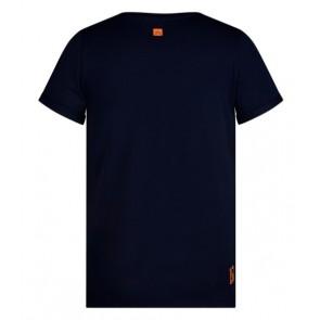 Retour denim Karl t-shirt in de kleur indigo blue donkerblauw