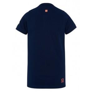 Retour denim polo shirt Igor in de kleur donkerblauw