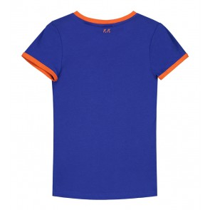 Nik en Nik ready t-shirt in de kleur midnight blue blauw