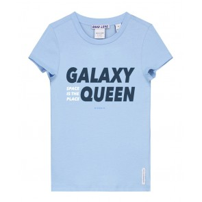 Nik en Nik t-shirt galaxy in de kleur surf blue lichtblauw