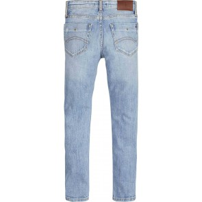 Tommy Hilfiger kids boys jeans broek scanton slim in de kleur jeansblauw